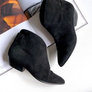 Walter Steiger Suede Ankle Boot Handmade in Italy